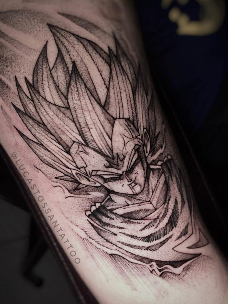 Foto de tatuagem feita por Lucas Tossan (@lucastossantattoo)