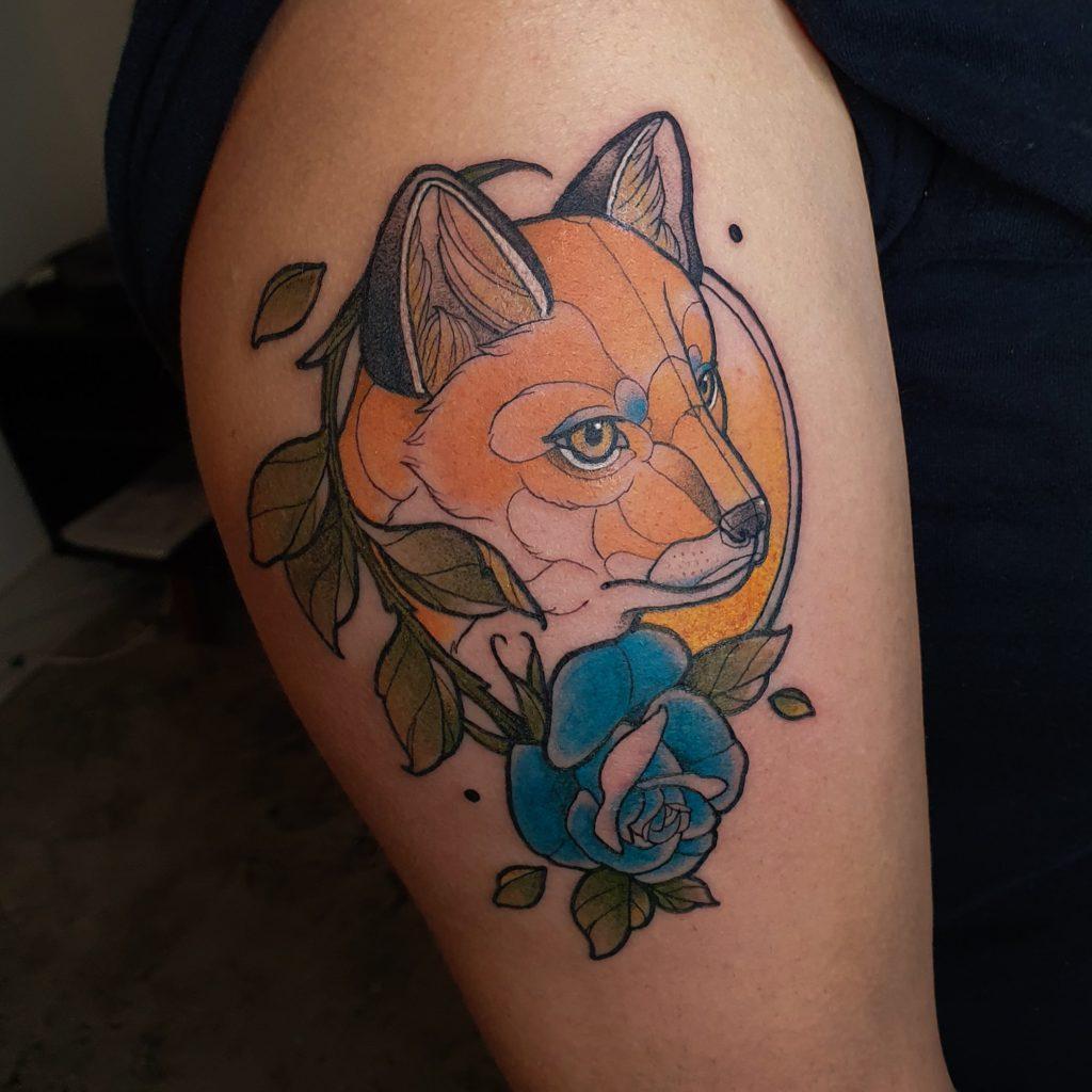 Foto de tatuagem feita por Eder Antunes (@ederantunestattoo)