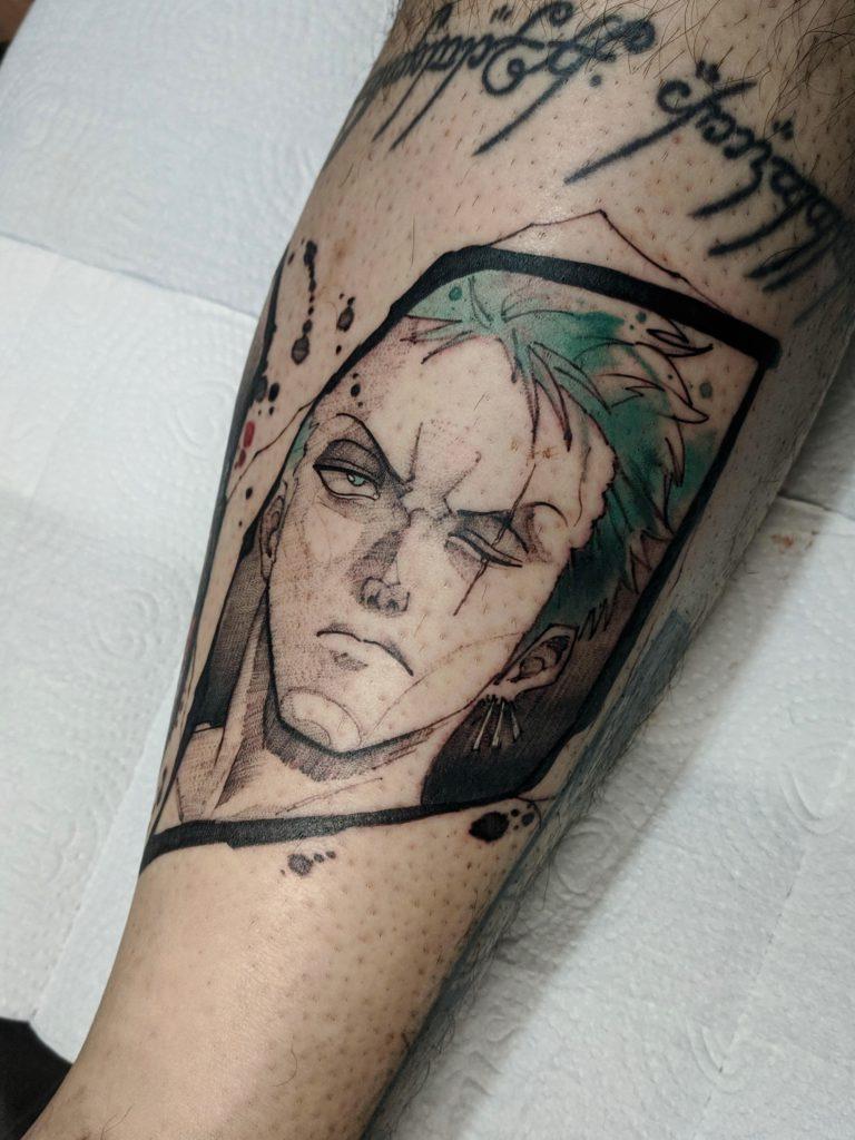 Foto de tatuagem feita por Bruno Cavalcanti (@brunoartwork)