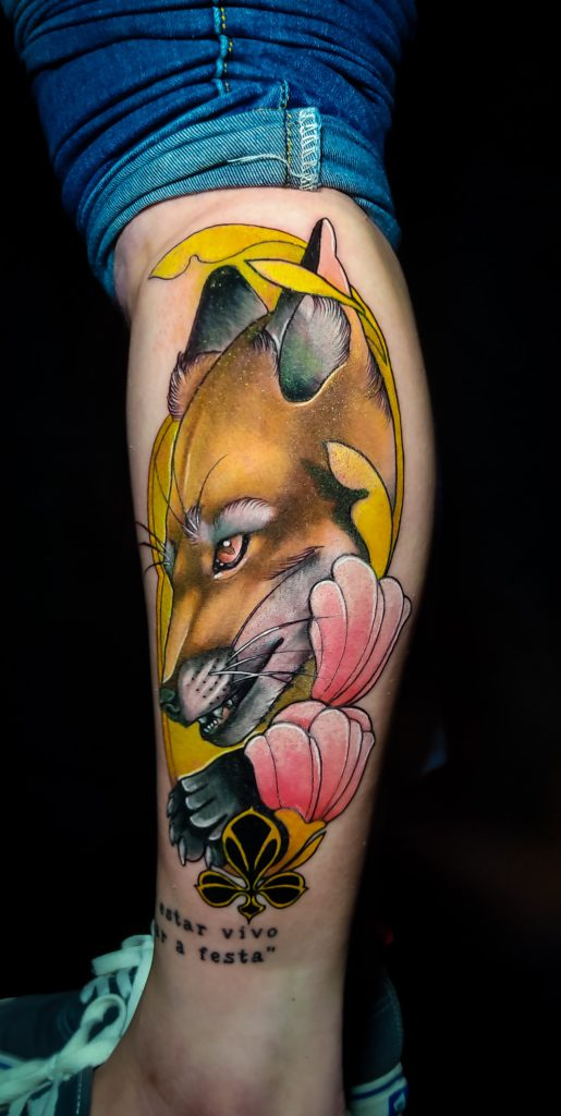Foto de tatuagem feita por Gabriel Weigert (@gabrielwtattoo)