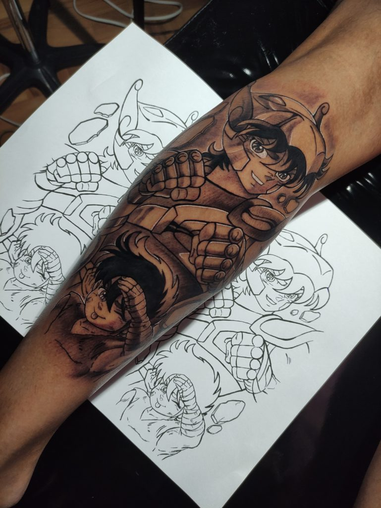 Foto de tatuagem feita por Distadio Tattoo (@distadio_tattoo)