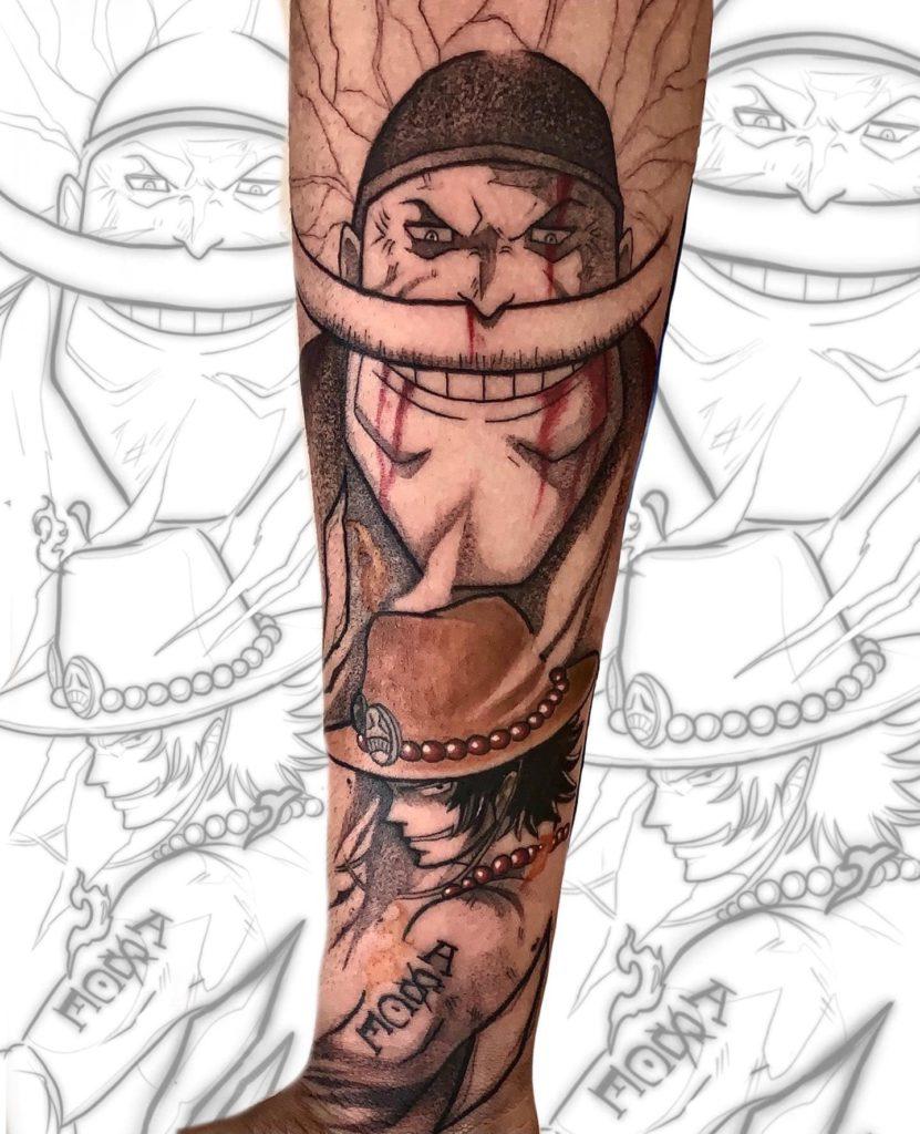 Foto de tatuagem feita por Gabriel Andrade (@gabrielandradetattoo)