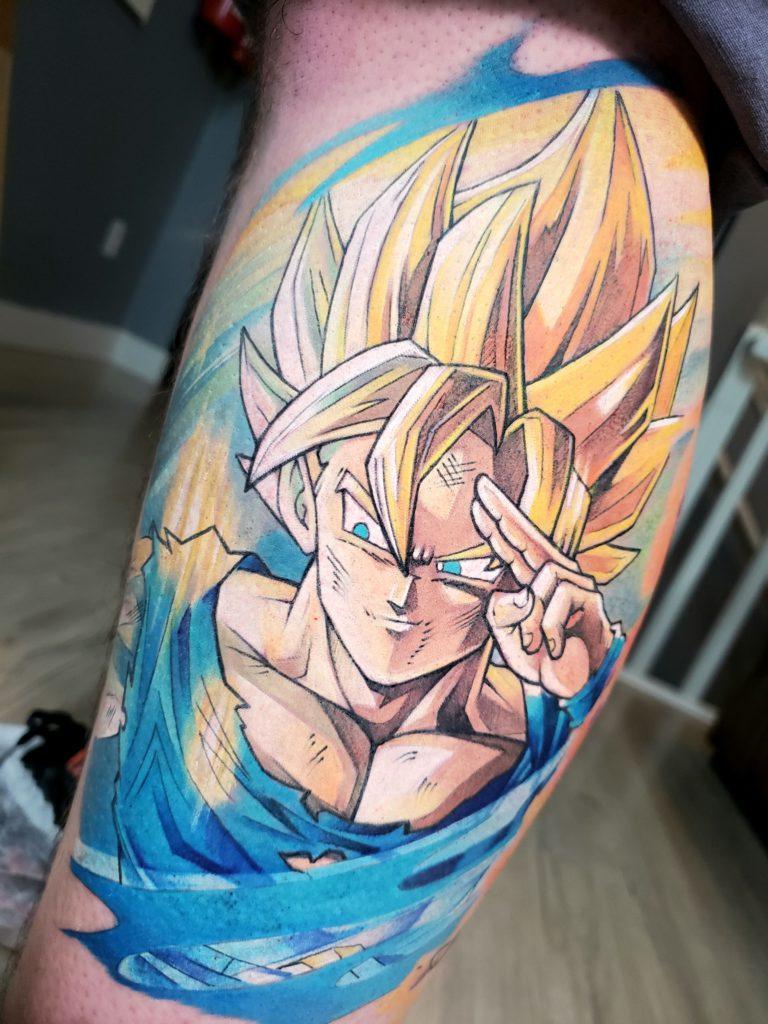 Foto de tatuagem feita por Júnior Reis (@juniorreistattoo)