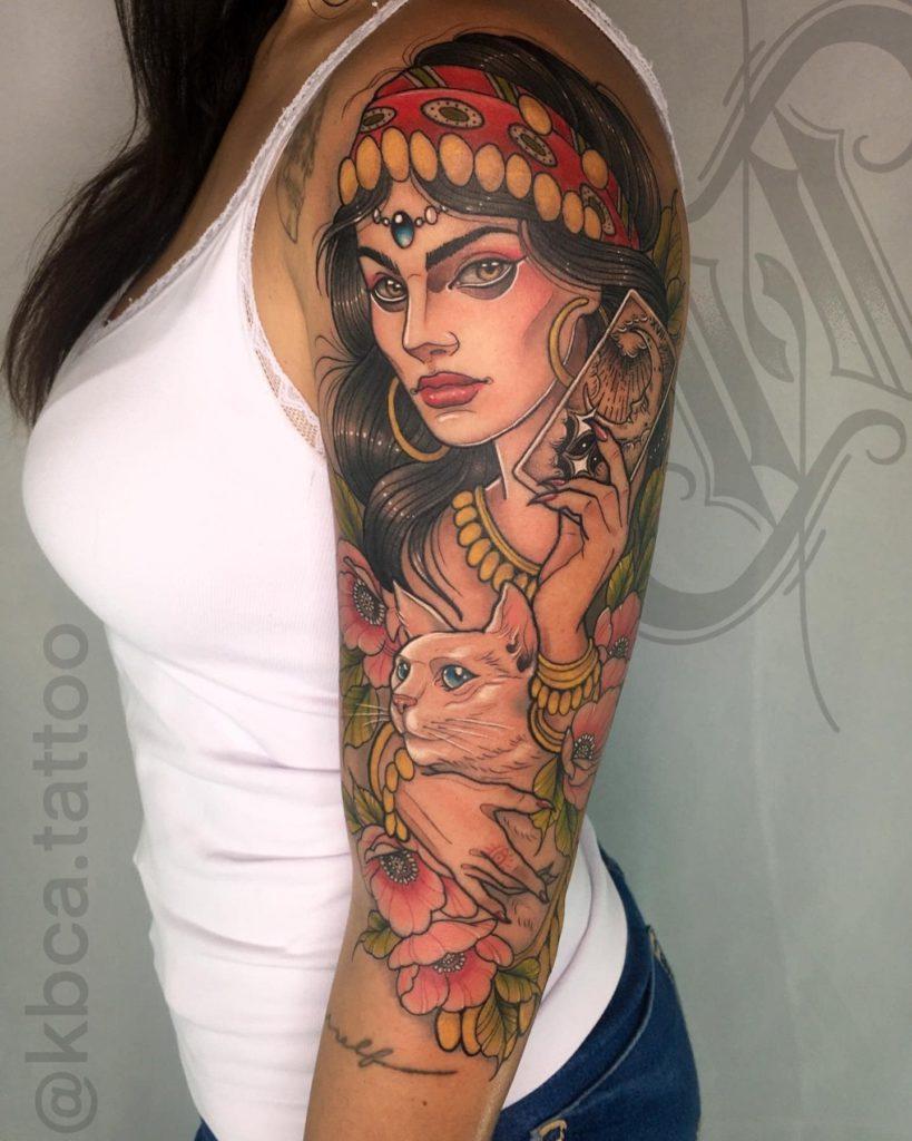 Foto de tatuagem feita por Luís Lopes - Kbca Tattoo (@kbca.tattoo)