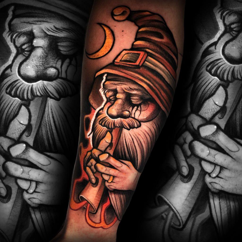 Foto de tatuagem feita por Sthefano Ribeiro (@sthefanoribeirotattoo)