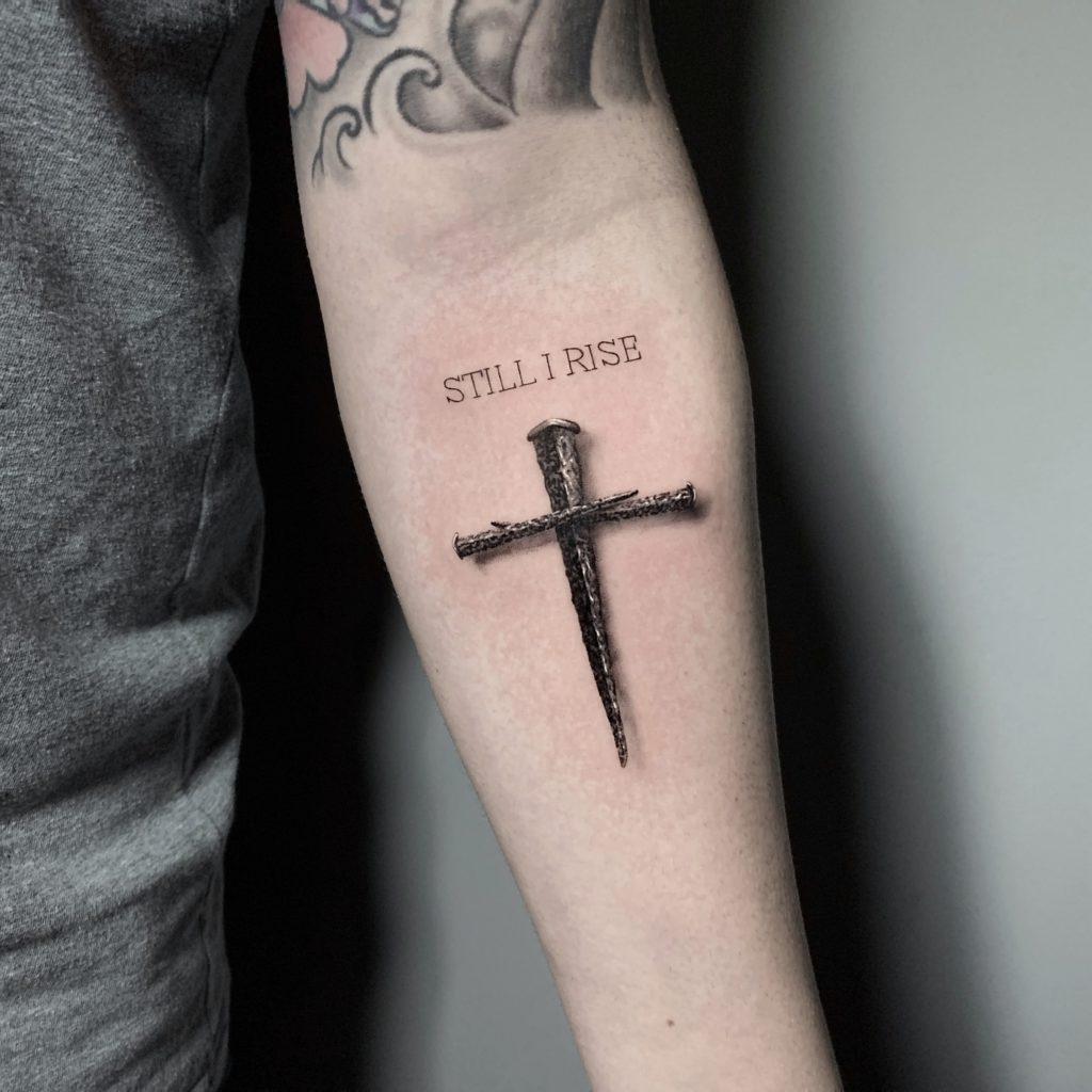 Foto de tatuagem feita por Cauan Zanella (@None)