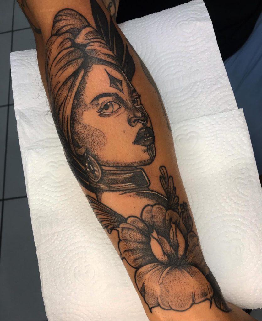 Foto de tatuagem feita por Levy Sampaio (@lui.tattoo)