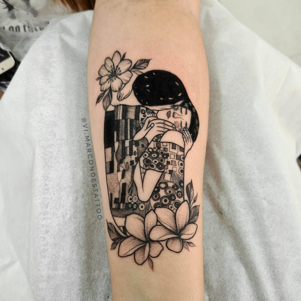 Foto de tatuagem feita por Vi Marcondes (@vi.marcondestattoo)