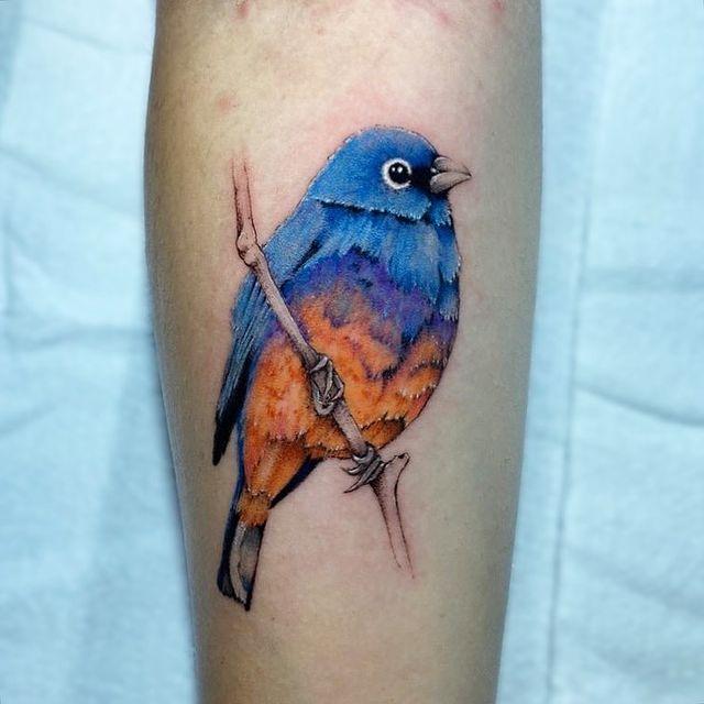 Foto de tatuagem feita por Noiele Biasi (@noiele.ttt)