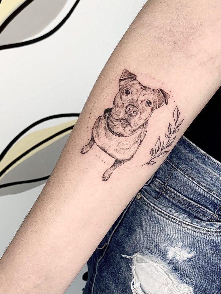 Foto de tatuagem feita por Jéssica Fernandes Tattoo (@jessicafernandestattoo)