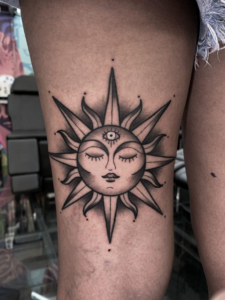 Foto de tatuagem feita por Bruno Teles - Truno Tattoo (@trunotattoo)