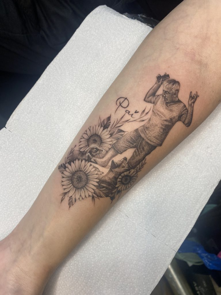 Foto de tatuagem feita por Mila Silveira @milasilveira.tattoo (@milasilveira.tattoo)