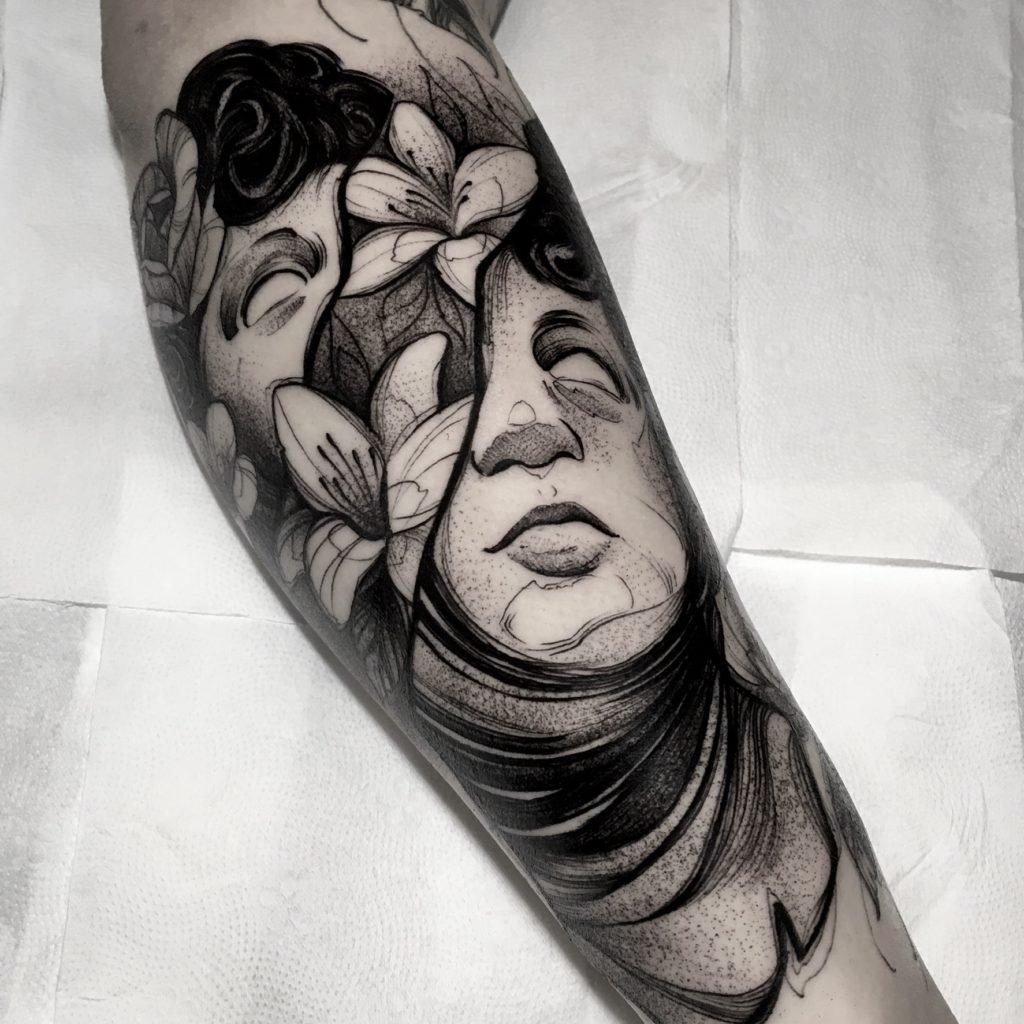 Foto de tatuagem feita por Maurício Guimarães (@mauriciog_tattoo)