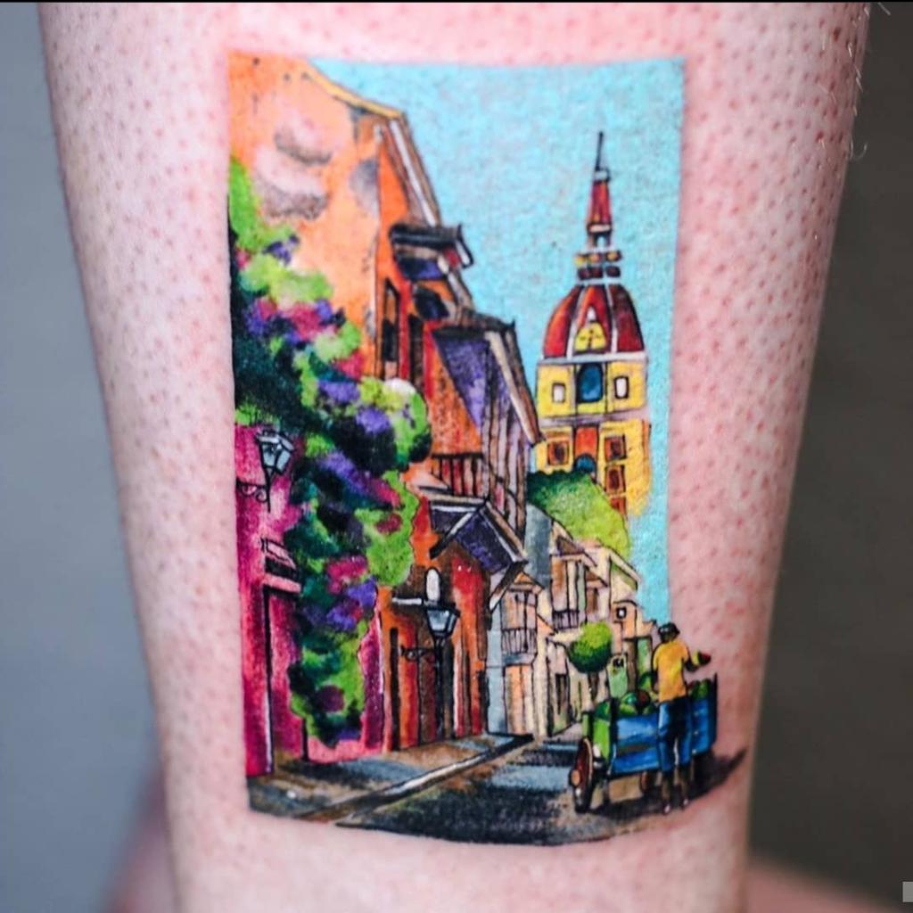 Foto de tatuagem feita por Yasmin Coiado (@ycoiado.ink)
