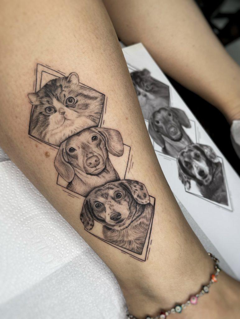 Foto de tatuagem feita por Bruna Vitoi (@brunavitoi)