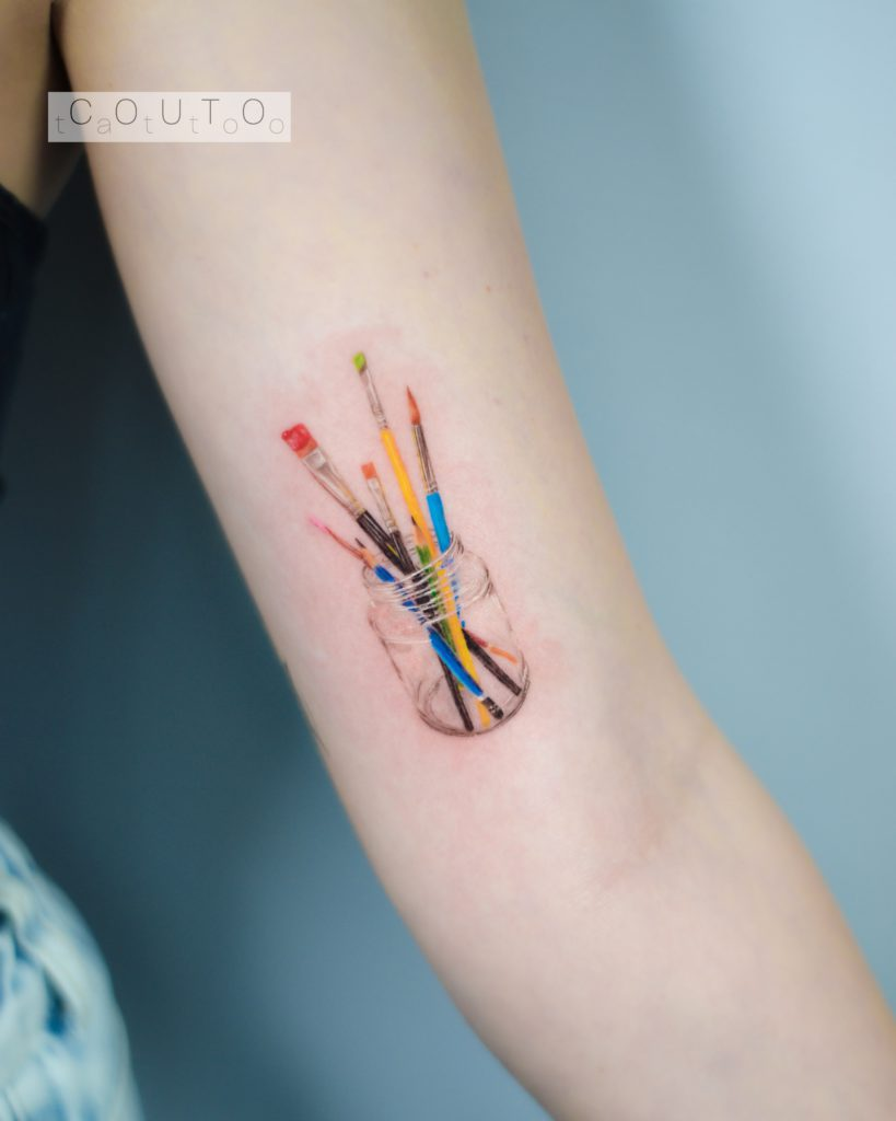 Foto de tatuagem feita por Couto Tattoo (@couto.tattoo)