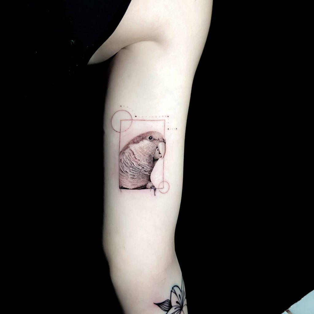 Foto de tatuagem feita por Vinicius clain (@clain.tattoo)