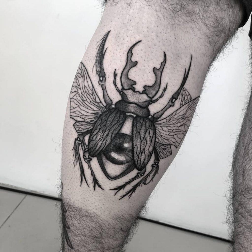 Foto de tatuagem feita por Joca (João Lucas) (@jocatattooart)