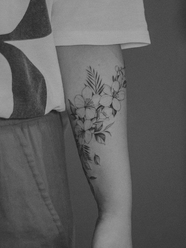 Foto de tatuagem feita por Guilherme Becker (@guilhermebeckertattoo)