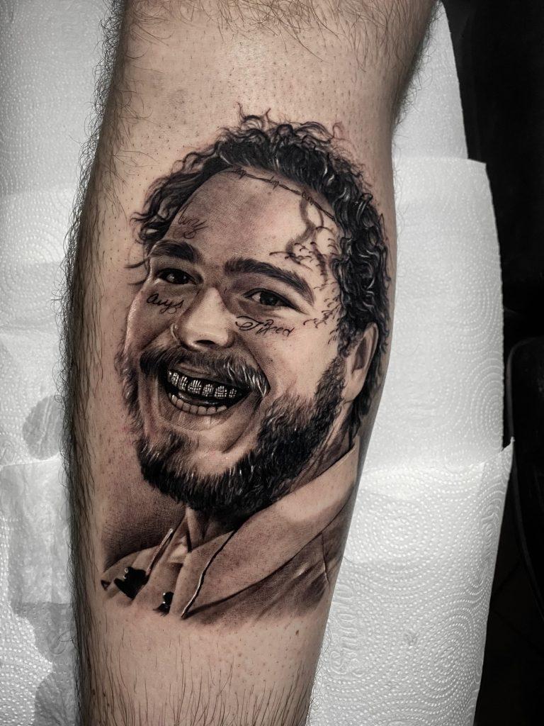 Foto de tatuagem feita por Guilherme Santos (@guisantostattoo)