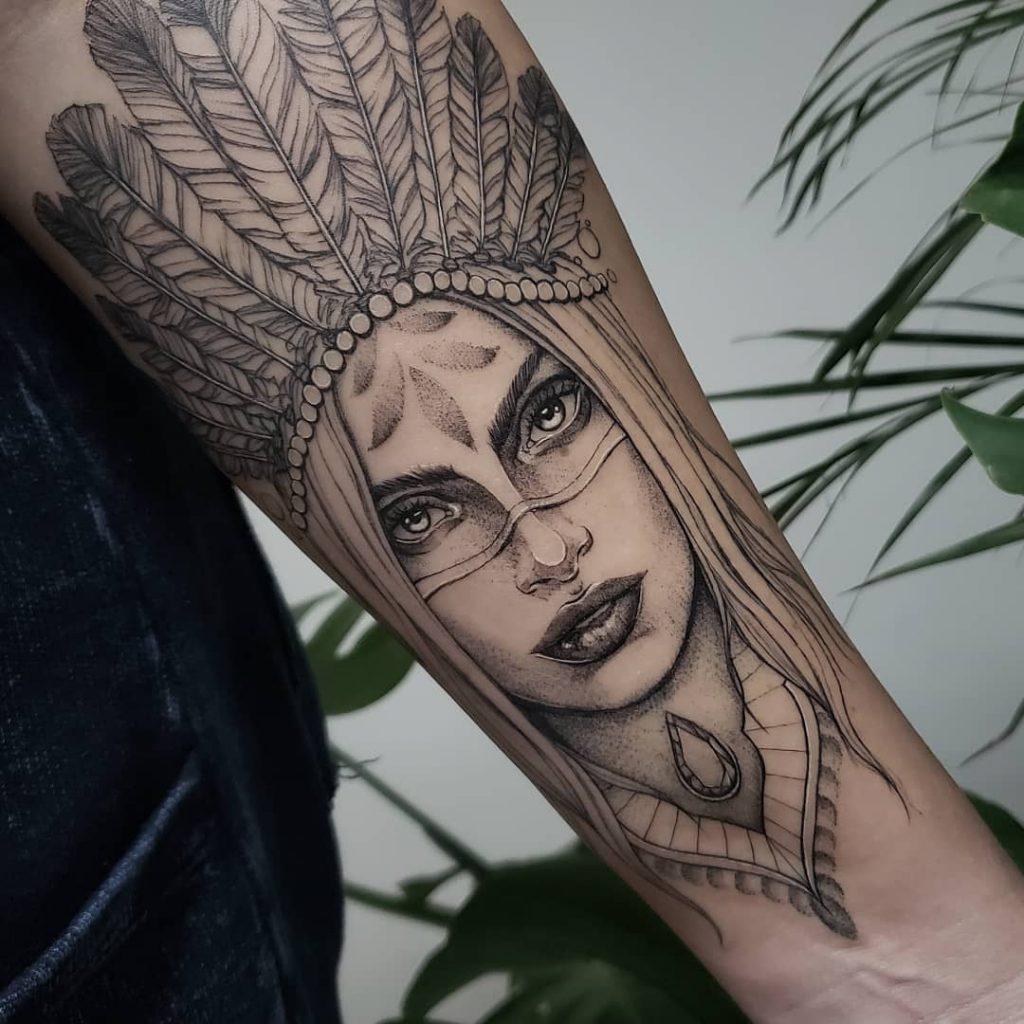 Foto de tatuagem feita por Rosa jara (@rosajaratattoo)