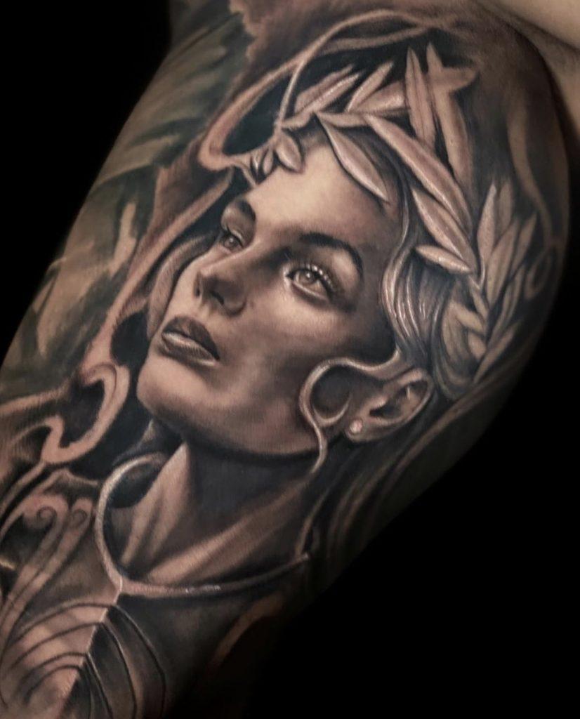Foto de tatuagem feita por Anderson Rodolfo (@andersontattooart)