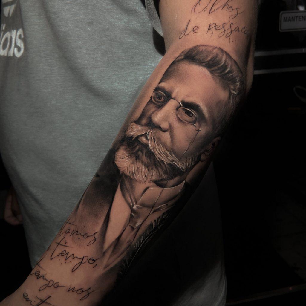 Foto de tatuagem feita por Luan Matias (@luanmatiastattoo)