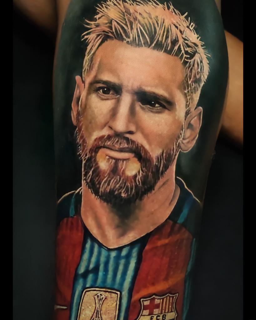 Foto de tatuagem feita por Henrike Demetryus (@henrikedemetryus)