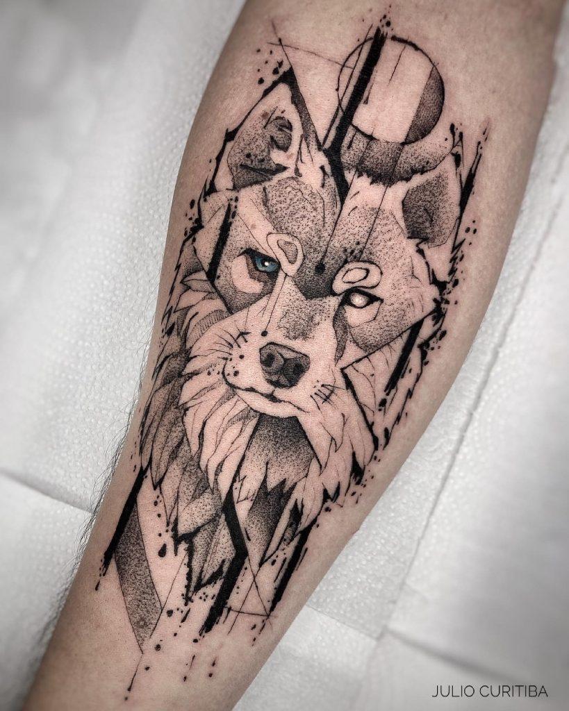 Foto de tatuagem feita por Julio Curitiba (@julio.curitiba.tattoo)