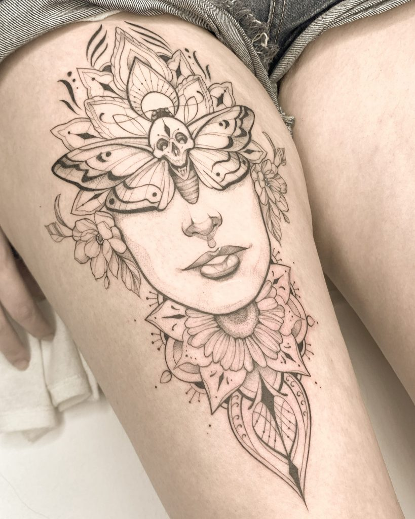 Foto de tatuagem feita por Ricardo Silva (@ricardo.di.paulla.tattoo)
