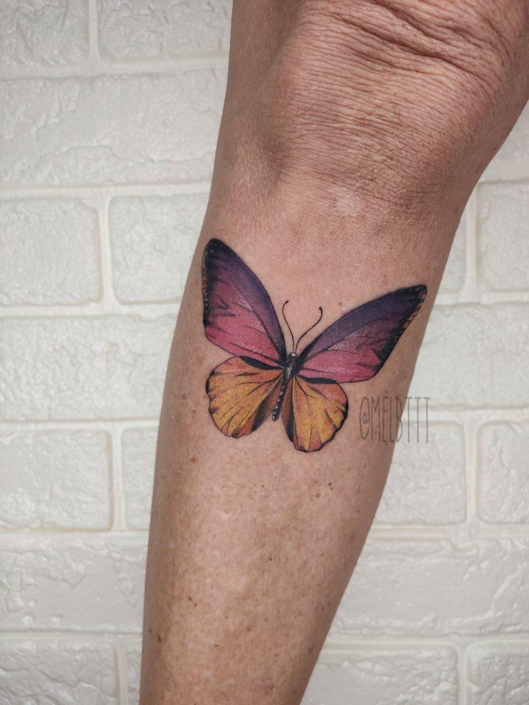 Foto de tatuagem feita por Mel B (@melbttt)