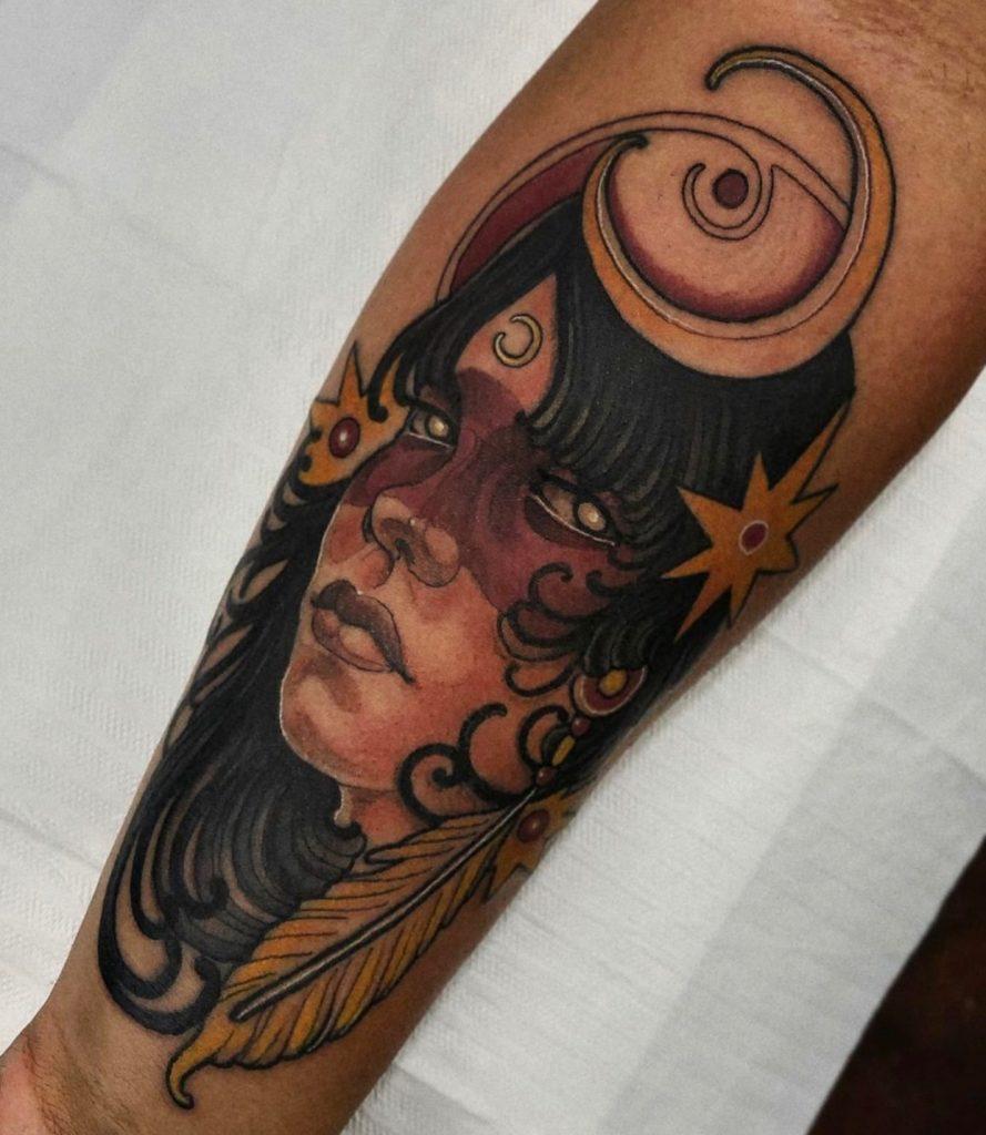 Foto de tatuagem feita por Lucas Duarte (@lucasduartetattoo)