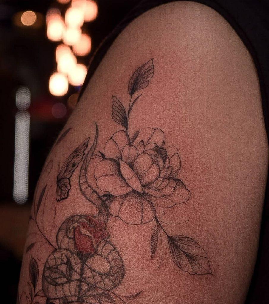 Foto de tatuagem feita por Lucas Cavalcante