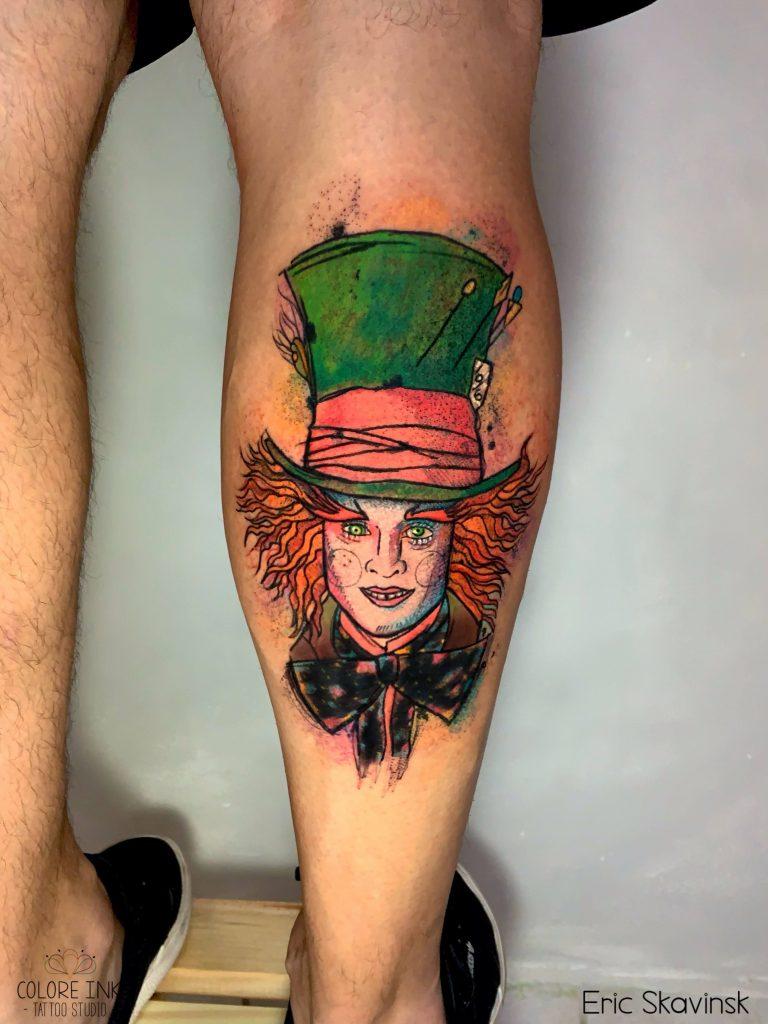 Foto de tatuagem feita por Eric Skavinsk (@ericskavinsk.tattoo)
