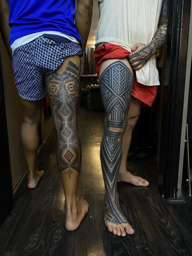 Foto de tatuagem feita por Rafa Firmino (@rafafirmino)