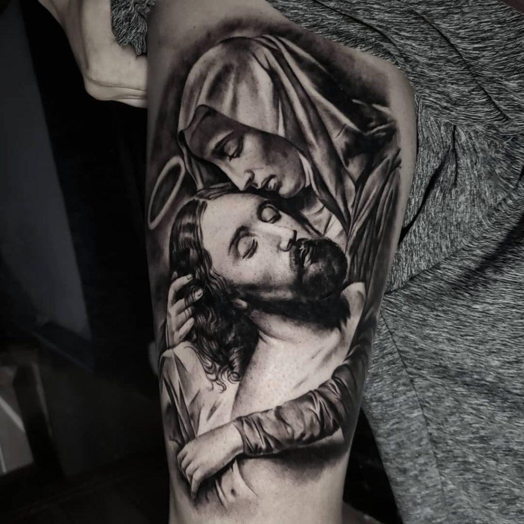 Foto de tatuagem feita por Matheus passos (@maatheuspassos)