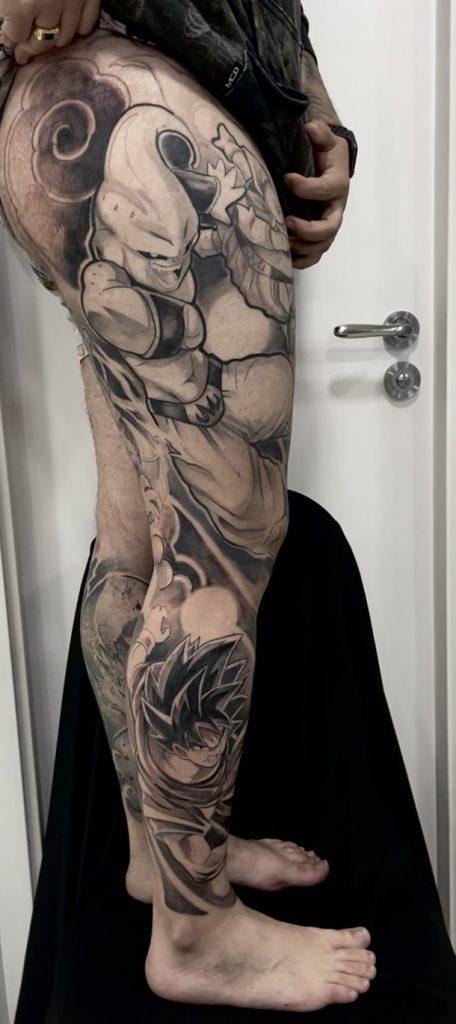 Foto de tatuagem feita por Felipe Luiz (@felipeluiz.art)