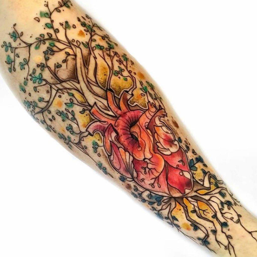 Foto de tatuagem feita por Edu Darcie (@edu.inked)