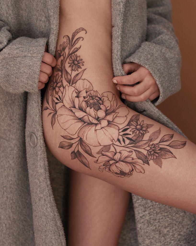 Foto de tatuagem feita por Tiago Durer (@tiago.durer)