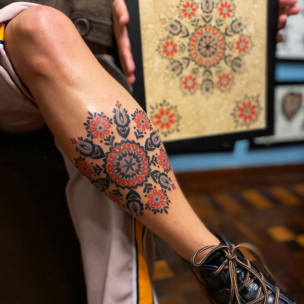 Foto de tatuagem feita por Rhenan Ferraz (@rhenanferraz)