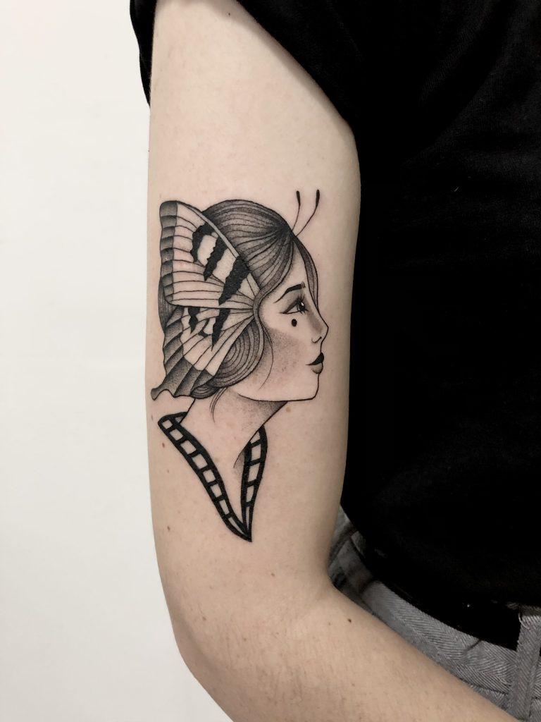 Foto de tatuagem feita por Mateus Lima (@matwsl)