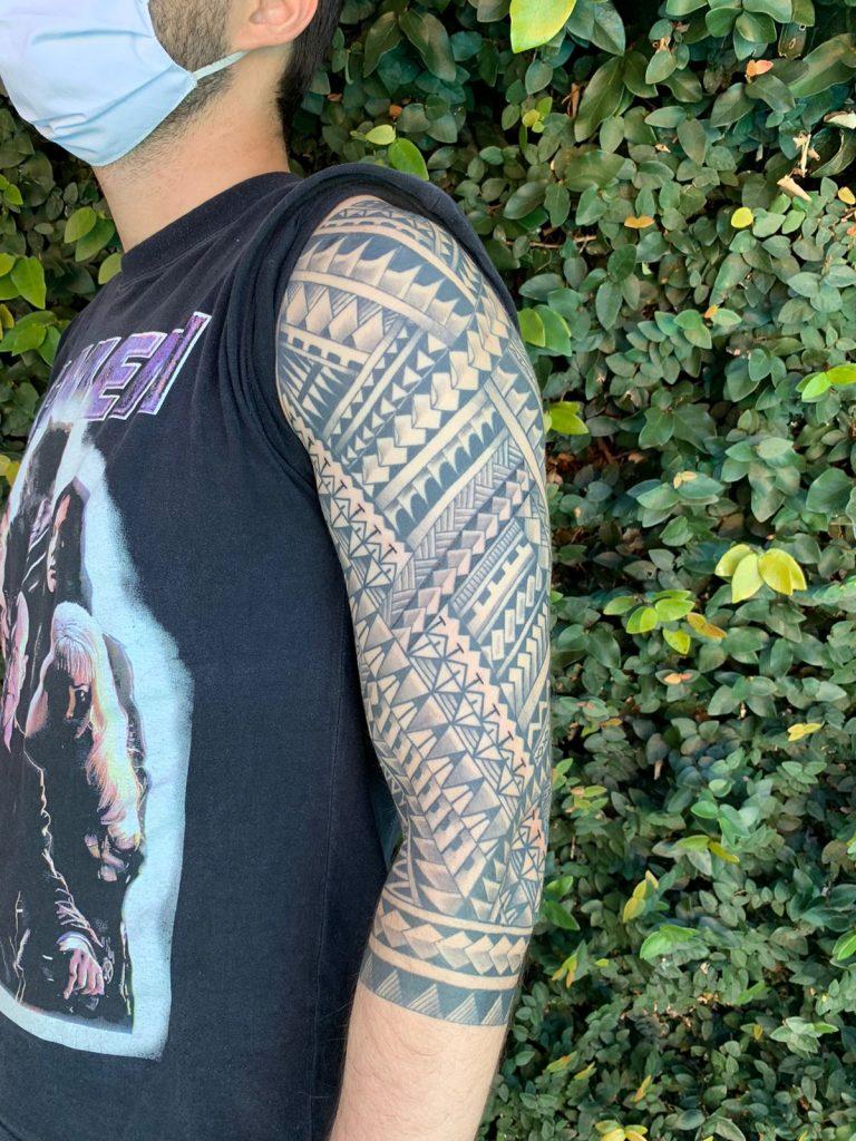 Foto de tatuagem feita por Marcelo Gringo (@marcelogringo)
