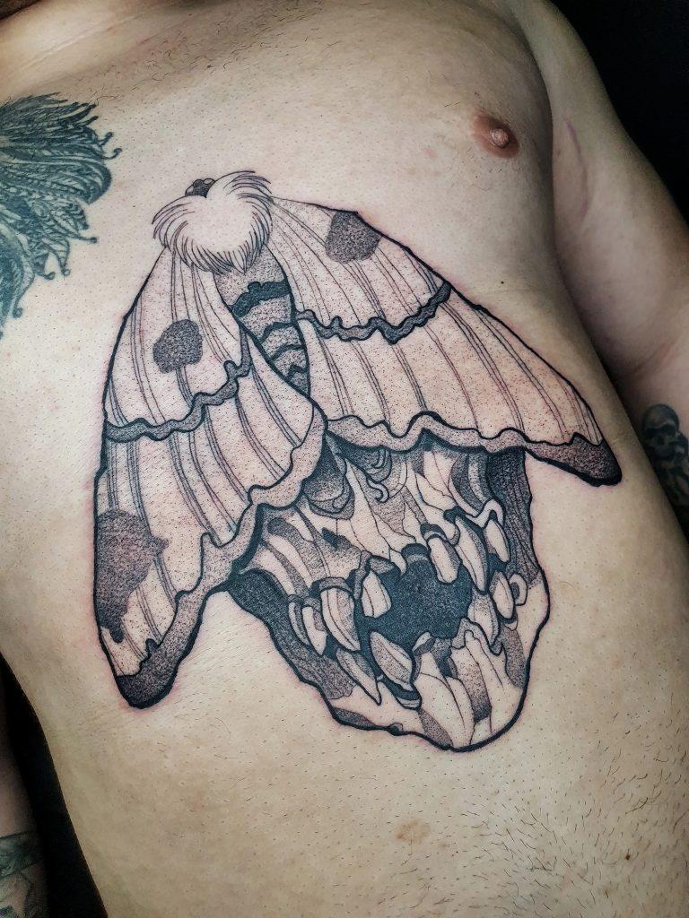 Foto de tatuagem feita por Arthur johan (@jhntattoo)