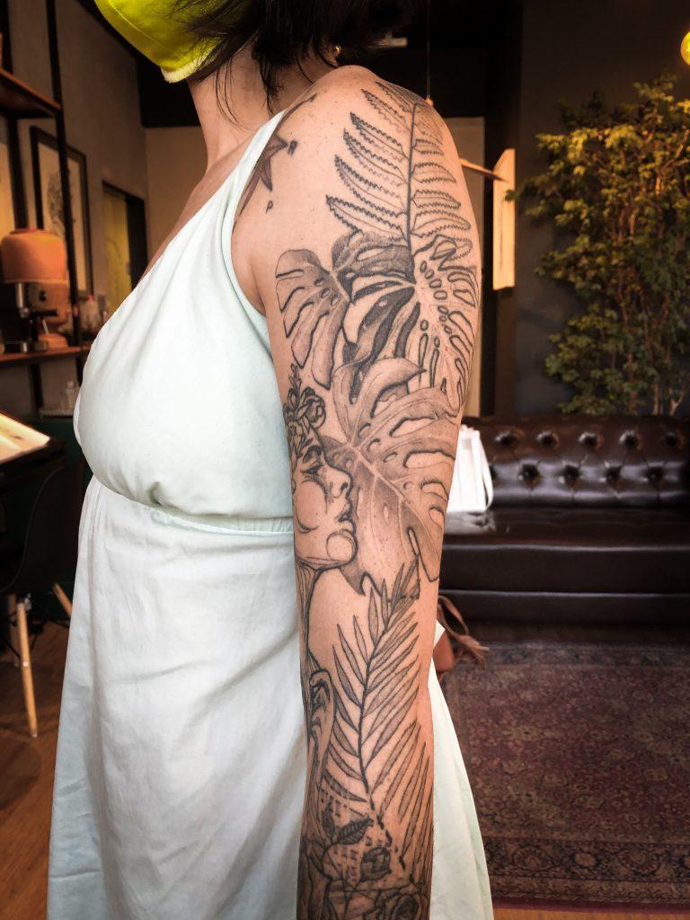 Foto de tatuagem feita por Aulus de Paula (@aulus_tattoo)