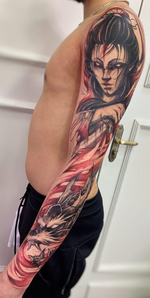 Foto de tatuagem feita por Inou Tattoo (@inoutattoo)