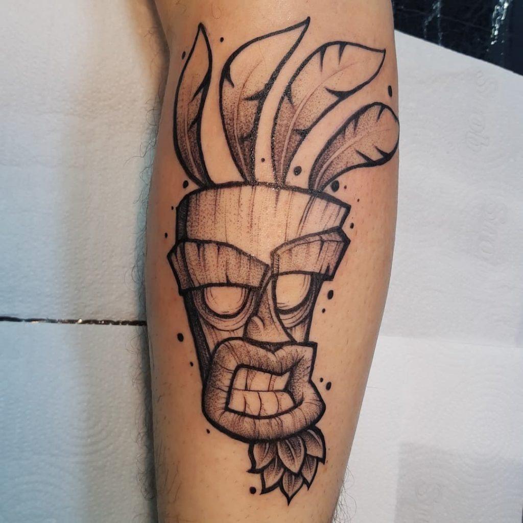 Foto de tatuagem feita por Pedro Grandi (@pedrovog_tattoo)