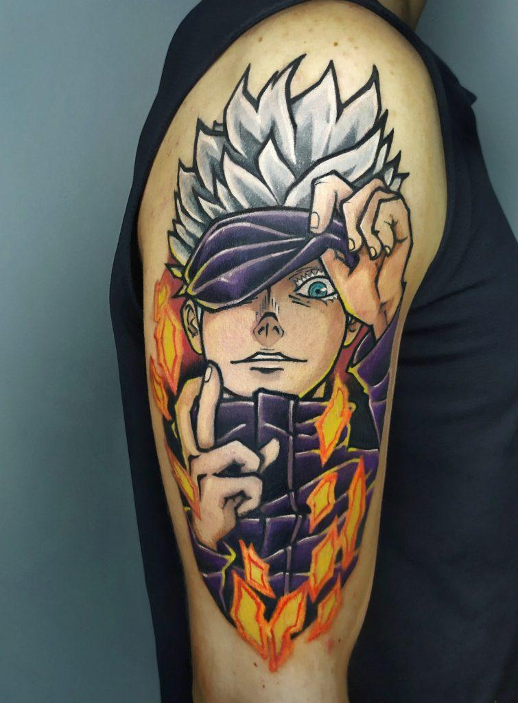 Foto de tatuagem feita por Lucas Mafra (@lucasmafra_tattoo)