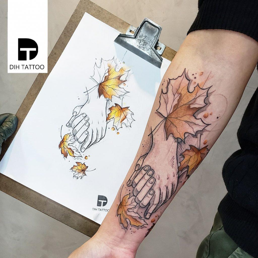 Foto de tatuagem feita por Dih tattoo (@dihartt)