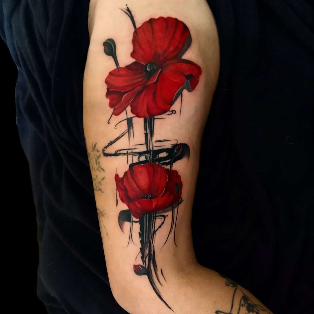 Foto de tatuagem feita por Adriano Ribeiro (@adrianomagraotattoo)