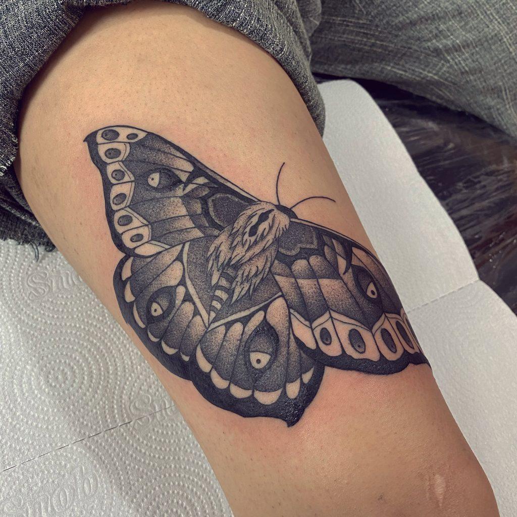 Foto de tatuagem feita por Metamorphose tattoo (@metamorphose_tattoo)